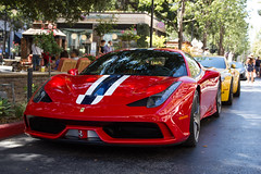 Ferrari 458 Speciale (twinsfan7777) Tags: california red sports car cool italian san jose rich ferrari exotic expensive exclusive supercar speciale 458