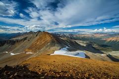 Granite Mountain peak (fantomdesigns) Tags: road camping camp mountain 4x4 top peak off hike glacier alpine stunning granite land cruiser chilcotin taseko