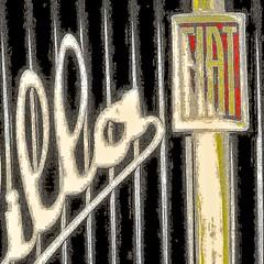 fiat balilla (archifra -francesco de vincenzi-) Tags: texture square logo fiat stemma carré calandra fiatbalilla stemmafiat archifraisernia fiat508 francescodevincenzi fiat508nuovabalilla