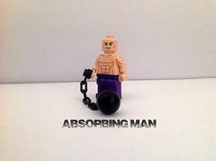 Absorbing Man (Lego Creationist) Tags: man ball lego chain marvel absorbing