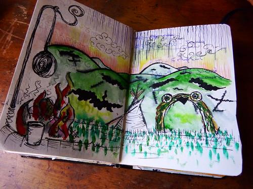 Art Journaling 2015