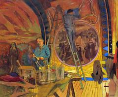 IMG_0678 (www.ilkkajukarainen.fi) Tags: art douardvuillard 18681948 painting nabis 18681940 postiimpressionism palaisdetokyoparis portraitofmauricedenis musee museo museum museumstuff ljy maalaus oil taide teos colours color