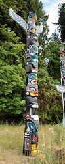 Totem Pole Panorama (A.G. Buron Photography) Tags: panorama vancouver totem totempole stanleypark stitched vancouverbc armandburon