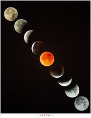 Maansverduistering in negen beelden (nandOOnline) Tags: moon water evening nacht nederland luna avond lunar lunareclipse vijver eclips mooneclipse maan sterren aarlerixtel verduistering nbrabant maansverduistering supermaan bloedmaan superbloedmaan aarlesevisvijver