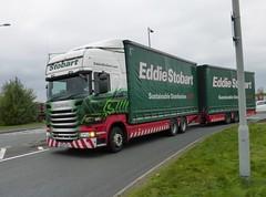 M479 - MX64 GSZ (Cammies Transport Photography) Tags: road truck lorry irene eddie carlisle kayleigh scania esl parkhouse stobart eddiestobart gsz r450 m479 mx64 mx64gsz