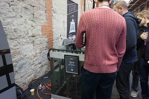 GIGABOT 3D PRINTER AT THE WEB SUMMIT IN DUBLIN 2015 [Re:3D]-109807