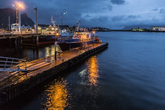 M/S ORCA, Svolvr, Lofoten (cpphotofinish) Tags: ocean blue autumn light sky panorama mountain color colour reflection fall water rain weather norway clouds canon dark landscape outside island eos daylight norge photo reflex day skies foto image harbour outdoor panoramic norwegian nordic dslr scandinavia canondslr lofoten havn bilder vann bluelight skyer kaia hst hurtigruten landskap bilde svolvr norske farger mk3 nordland skandinavia svinya f4l canonef ef24105mmf4lisusm carstenpedersen canonmkiii seaeaglesafari mklll canon5dmk3 eos5dmk3 verdensvakrestesjreise cpphotofinish canonredlable