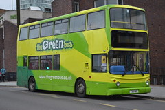 The Green Bus 110 Y38HWB (Will Swain) Tags: city uk travel england west bus green london buses birmingham october britain centre transport 110 7th midland midlands the 2015 9738 abellio y38hwb