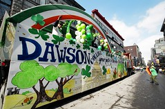 2005 St. Patrick's Parade (@UISMTL) Tags: float dawsoncollege