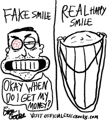 happy smile vs fake smile (officialericcrooks) Tags: smile real happy funny webcomics lol cartoon fake erica vs positive webcomic happysmile crooks fakesmile ichoosetobehappy ericacrooks