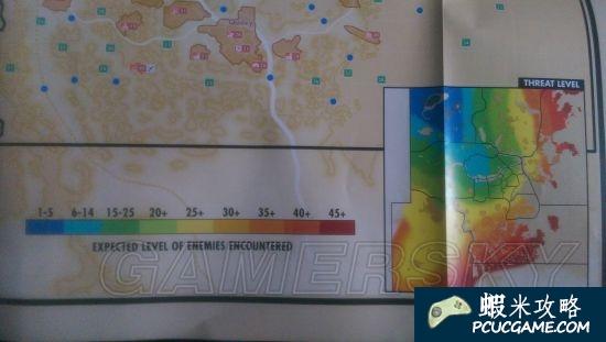 異塵餘生4 大地圖及怪物分佈一覽