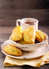 Biscuits filled with cheese (manyakotic) Tags: food cookies cheese breakfast dessert stuffed sweet many cottage bowl homemade buns snack pastry brunch biscuits treat ricotta filling baked