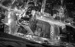 Canal Street (dansshots) Tags: nyc newyorkcity blackandwhite monochrome architecture bnw blackandwhitephotography nycarchitecture iloveny nikond3 dansshots
