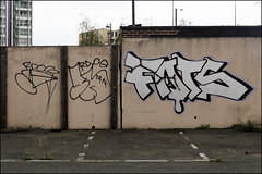 Rdog / Fats (Alex Ellison) Tags: urban graffiti boobs chrome graff fats eastlondon throwup throwie dfn rdog