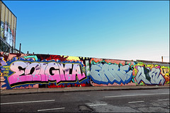 Enigma / Fare / Linkz (Alex Ellison) Tags: enigma fare cbm linkz uga eastlondon hackneywick urban graffiti graff boobs