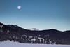 Cold Moon, Hot Springs (ebhenders) Tags: fairmont hot springs anaconda montana continental divide moon morning cold quiet