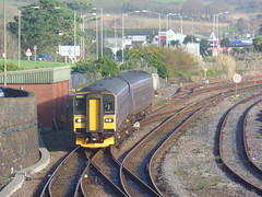 153318 & 153370 Penzance (13) (Marky7890) Tags: gwr 153318 class153 supersprinter penzance railway cornwall train 153370