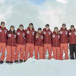 BC Ski Team athletes and coaches