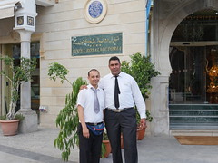 Hotel staff, Hotel Royal Victoria. Tunis.