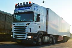 Scania R440 STT Logistics (Samuele Trevisanello) Tags: scania r440 stt logistics r 440 sttlogistics logistic white blue 6x2 6x4 3axle 3 axle nl holland hollandstyle international truckspotting truckspotter fotobyst trasporti nikon nikond d3200 veicolo allaperto camion euro6 auto como steghius steghuisnl