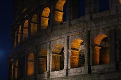 Colosseum at night (ozgurluk) Tags: rome roma italia italy architecture arquitectura anfiteatro amphitheathre amphiteatrum flavium flavio colosseo colosseum coliseo night noche
