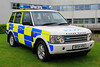 Cheshire Police Land Rover Range Rover Roads Policing Unit Traffic Car (Preserved) (PFB-999) Tags: cheshire police constabulary land rover range rr 4x4 roads policing unit rpu traffic car vehicle lightbar grilles rotators beacons leds dk54hsu headquarters hq winsford