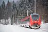 DB REGIO - KLAIS (Giovanni Grasso 71) Tags: klais nikon d610 db regio elettrotreno giovanni grasso mittenwald mittenwaldbahn bombardier talent talent2 br2442