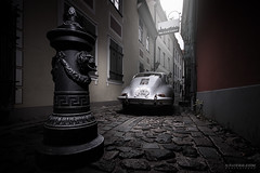 Old Town Streets (Rawcar.com Photography) Tags: porsche 356 silver super90 super 1961 car race supercar vintage retro oldtimer classic classics german rawcar rawcarcom automotive automobile photography worldcars raw motorsports vehicle auto transport transportation world cars photo art