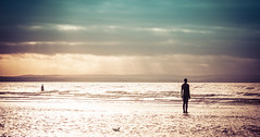 Another Place (mynameisblank!) Tags: nikon nikond300s lancashire england beach anotherplace antonygormley winter sand water sea seaside sculpture statue art artinstallation outside nikond3oos travel alwaysmoving lightroom editedinlightroom outdoors