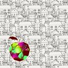 Artistique (camilleromane1) Tags: pomme apple fluo effetdephoto graphique graphic sony sonyalpha68 macro maison dessin