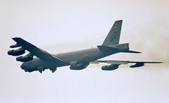 Heading to LA LA land (crusader752) Tags: usaf usairforce boeing b52h stratofortress 600013 buff callsign sully02 raffairford jet bomber aircraft barksdaleafb louisiana