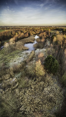 Bold Forest Park (sammys gallery) Tags: bold countrypark countryside woods trees aerial dronecamera sthelens