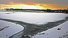 Roggenburger Weiher Winter 7 (noa1146) Tags: winter dämmerung kälte weiher wasser landschaft scwaben bayern tz101