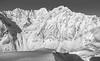 Norway 2016 (::ErWin) Tags: troms norwegen lyngen lyngseidet lawine avalanche berge schnee blackandwhite bw monochrome snow mountains norway