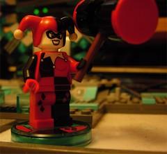 Lego Dimensions Harley Quinn (Doc Nero) Tags: lego dimensions dc movie sonic hedgehog midway ninjago doctor who arcade spy hunter joker batman tardis dalek