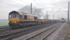 66039 (paul_braybrook) Tags: 66039 dbc class66 diesel copmanthorpe york northyorkshire freight doncaster tyne railway trains