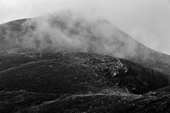 misty mournes (Paul T McDowell Photography) Tags: ngc 2016 autumn blackandwhite blackandwhitephotography bright camera canonef85mmf18usm canoneos5dmarkii cloudy colour countydown day digital fineartphotography hiking horizontal image landscape landscapephotographer lens mountain mournemountains nature northernireland orientation outdoor paultmcdowellphotography photography places season sky slievebearnaghmountain time unitedkingdom weather year