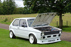 Scottish VAG Show 2015 (<p&p>photo) Tags: white 80s 1980s 1982 vw vdub vwgolf volkswagengolf volkswagengolf20 volkswagen golf 20 egn142x vag dub volkswagenaudigroup chatelherault country park chatelheraultcountrypark chatelheraultpark hamilton southlanarkshire lanarkshire scotland uk showandshine showshine shownshine car classic auto motor motorcar show rally display carshow classiccarrally classiccarshow summer july 2015 july2015 worldcars