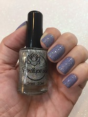 Do Magic - Penélope Luz sobre Cashmere Cardigan - Orly (Jane Iris) Tags: nail polish unhas esmalte glitter