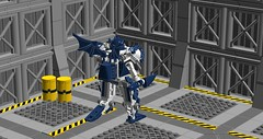 Spawn of Darkness (Śląski Hutas) Tags: lego moc bricks mech hardsuit ldd cad bats ow edge