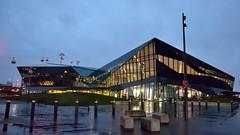 The Crystal Conference Centre (35mmMan) Tags: london docklands city urban metropolis dusk uk e16 nikon docks crystal conference centre architecture glass modern