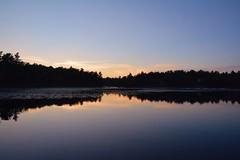 Glass Lakes (joslynn♡) Tags: sunset lake ontario chairs dusk cottage lakeside campfire bonfire muskoka morrison gravenhurst