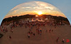 Trop tard pour l'alignement.....dans Sky Mirror (mamnic47 - Over 8 millions views.Thks!) Tags: eau perspective versailles anishkapoor img1575 soleilcouchant skymirror photodenuit latone jetsdeau versailleschateaudeversailles bassindelatone grandeseauxnocturnes effetsdelumières