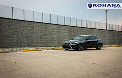 Lexus IS250 - RC8 Matte Black (2) (Rohana Wheels) Tags: wheels toyota rims concave lexus trd luxurycar rohana is250 lexusis250 rc8 luxurywheels fsport rcseries rohanawheels