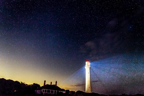 Aireys Inlet Lighthouse Stars-2