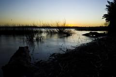 Atardecer en la Laguna. (Lautaro Marhetti) Tags: longexposure atardecer agua nd laguna neutraldensity densidadneutra
