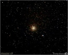Globular Cluster M69 (The Dark Side Observatory) Tags: night canon stars timelapse space cluster july sagittarius astrophotography astronomy nightsky messier constellation deepspace celestron astronomer globularcluster 2015 globular deepsky m69 canon6d astrometrydotnet:status=failed ioptron tomwildoner zeq25gt leisurelyscientist leisurelyscientistcom astrometrydotnet:id=nova1248403