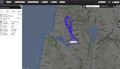 IAF 0 tanker flying figure 8s over northern israel (cjosgood) Tags: aviation military middleeast 707 tanker israeliairforce flightradar24