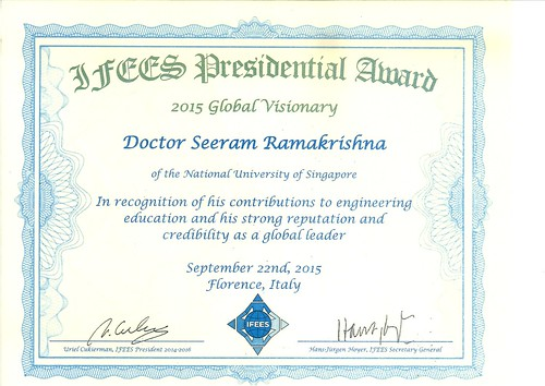 IFEES Presidential Award