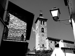 white black texture church monochrome composition contrast spain exposure shadows stonework churches aragon rule pyrenees thirds ordesa broto dazzlingshot vividandstriking